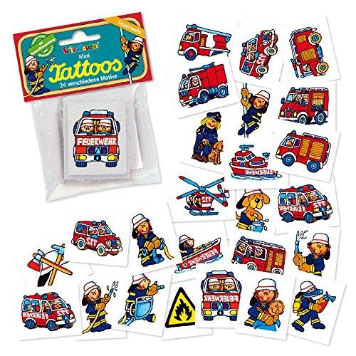 Benny Brandmeister Mini Tattoo Set Feuerwehr