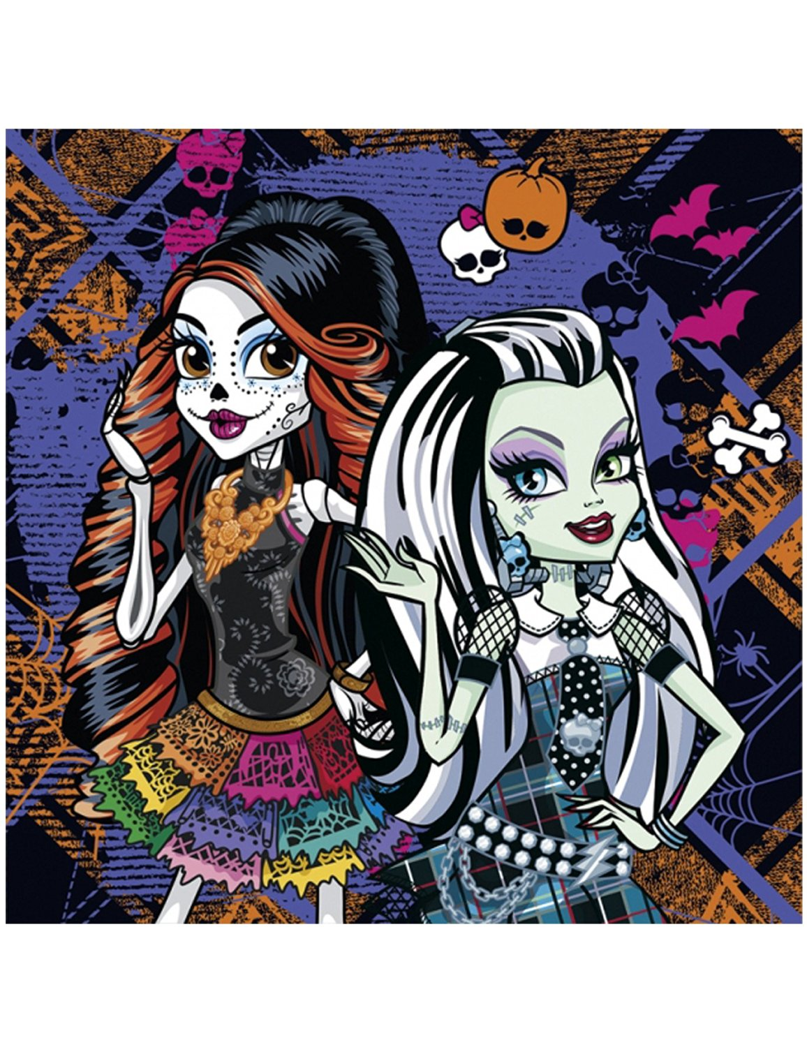 Monster High Cemetery Party Servietten