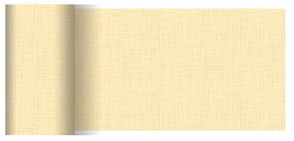 Duni Tischbänder Linnea creme 0,15 x 20,00 m