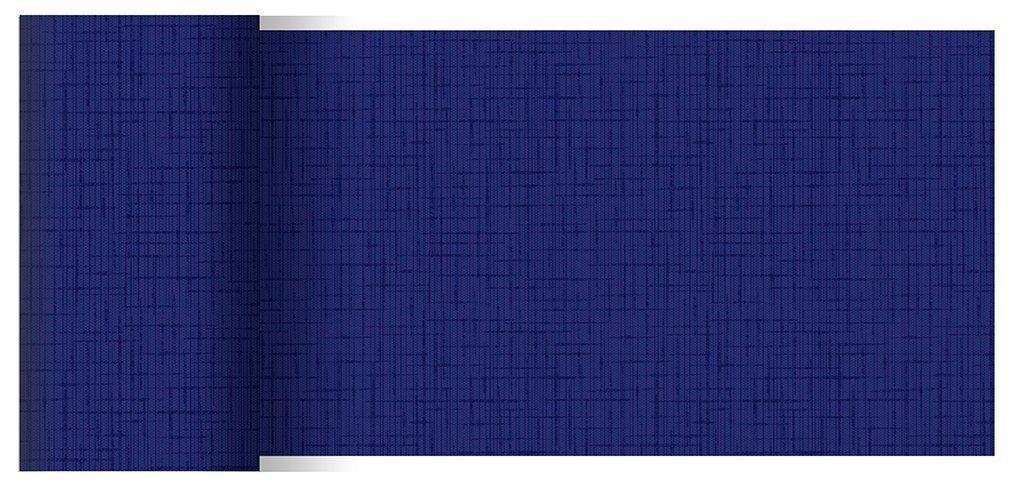 Duni Tischbänder Linnea dunkelblau 0,15 x 20,00 m