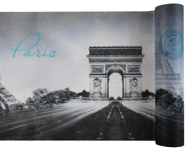 Party Tischband Tischläufer Paris 30 cm x 5,00 m