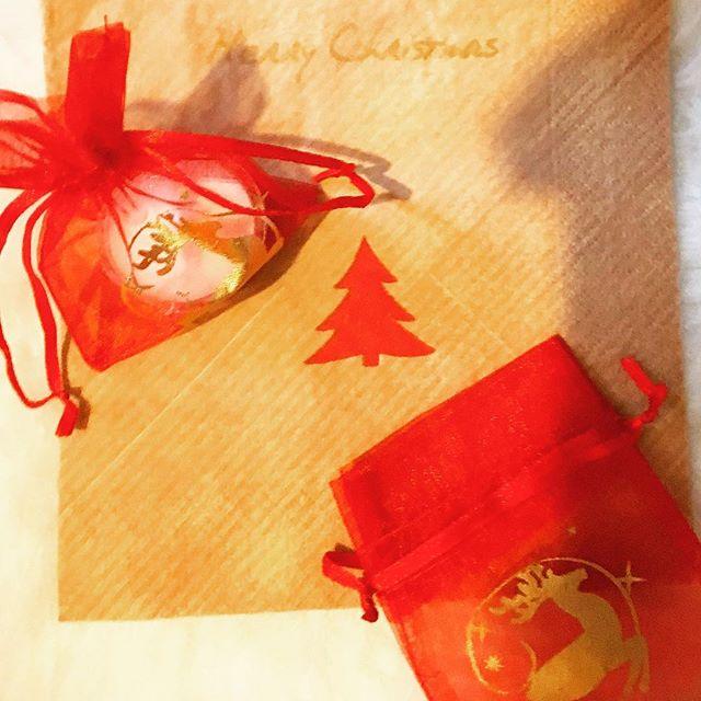55 Duni Zelltuch Servietten Envelope Merry Christmas 33 x 33 cm