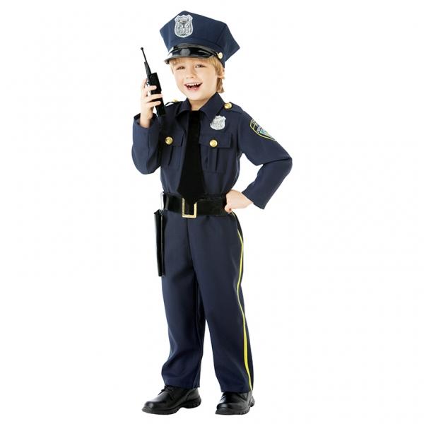 Kinder Kostüm Polizei Police Officer Gr.: 110 - 122 / 4 - 6 Jahre