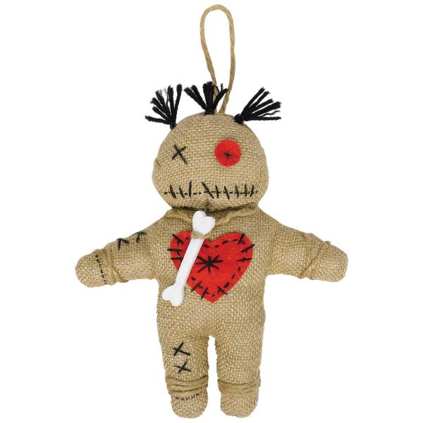 Der Witch Doctor Voodoo Puppe