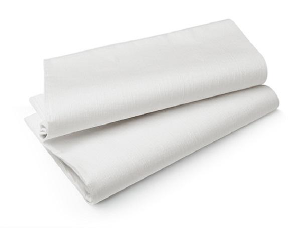 Duni Tischtuch Evolin  1,27 x 1,27 m weiß