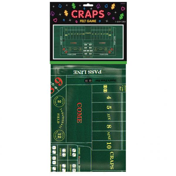 Spielfeld Tischdecke Craps Casino