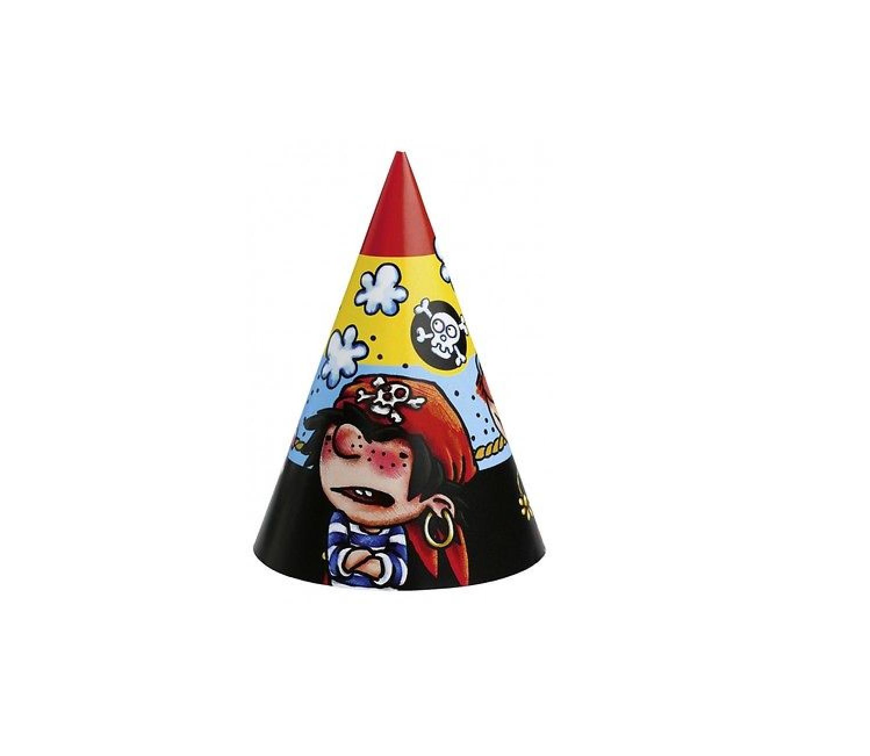 """Der kleine Pirat """"Piraaates"""" Party Hütchen"""