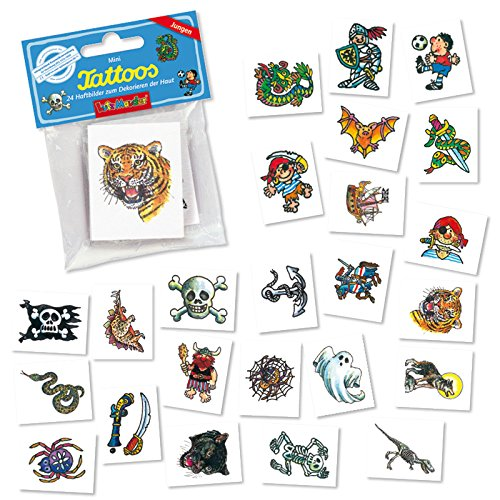 Coole Jungen Mini Tattoo Set