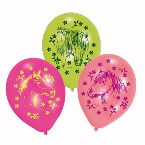 6 Pferde Luftballons