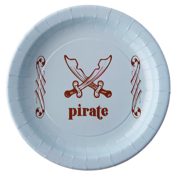 blau wie das Meer Piraten Party Teller