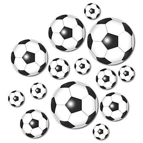 Tisch Dekoration Fußball 42tlg. von DH Konzept