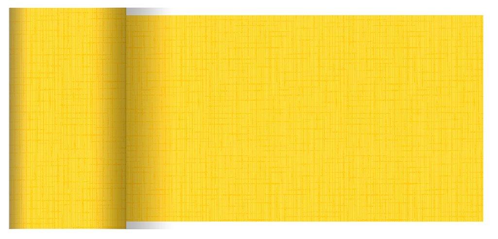 Duni Tischbänder Linnea gelb 0,15 x 20,00 m