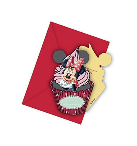 Minnie Café Party Einladungskarten