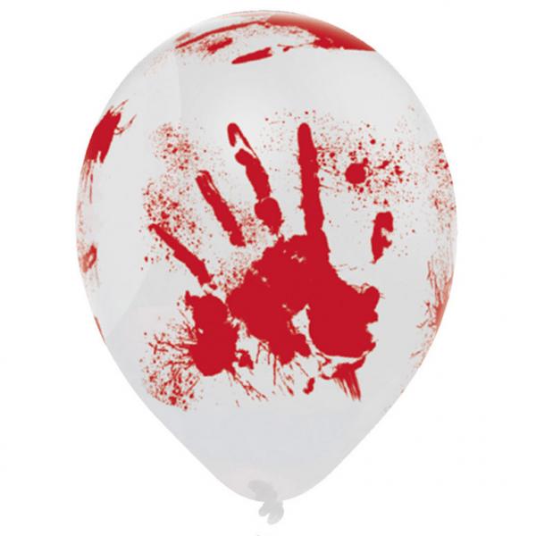 """Halloween """"Die blutverschmierten"""" Party Luftballons"""
