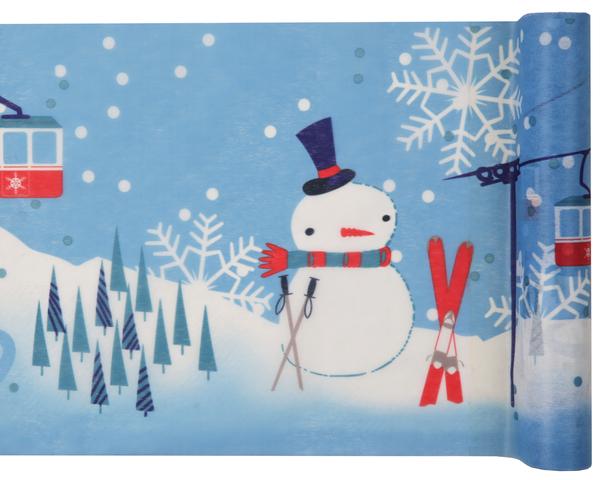 Weihnachten, Winter ... oder Apres Ski Party Tischband Tischläufer