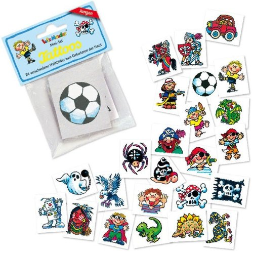Mini Tattoos Set Jungen