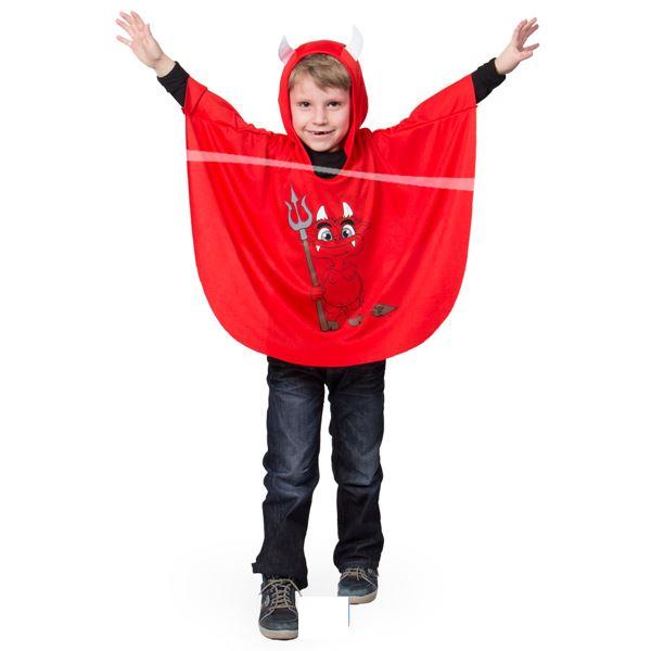 Das Teufelchen mit Kapuze Halloween Verkleidung