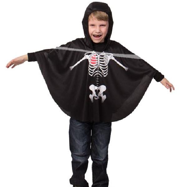 Das Skelett mit Kapuze Halloween Verkleidung