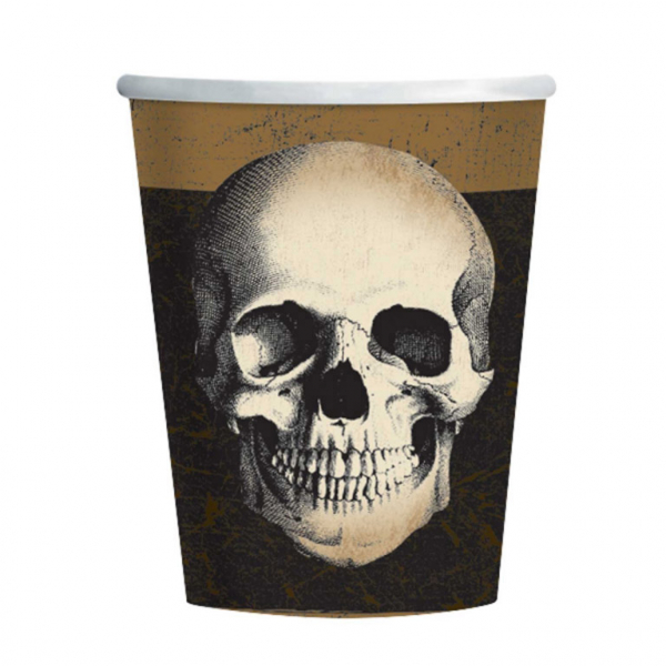 Totenkopf Boneyard Grusel Party Becher