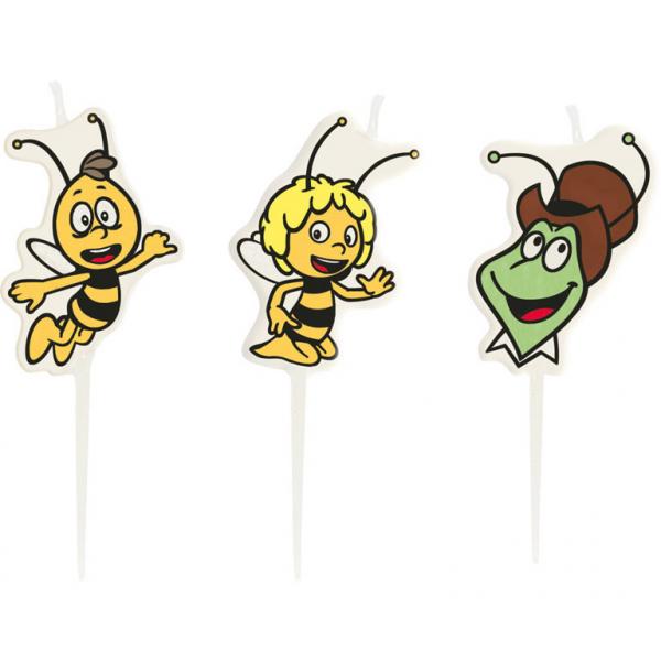 Biene Maja Mini Figurenkerzen