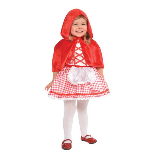Baby / Kinder Kostüm Rotkäppchen Gr.: 84 12 - 24 Monate