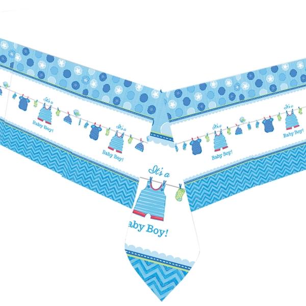 Baby Party  Tischdecke ... es wird ein Junge