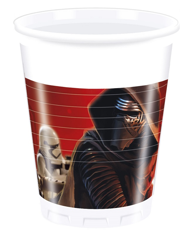 STAR WARS FORCE AWAKENESS Party Becher
