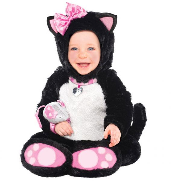 Ihr Baby als Mr. Miss Itty Bitty Kitty Katzen Kostüm Babys 6 - 12 Monate