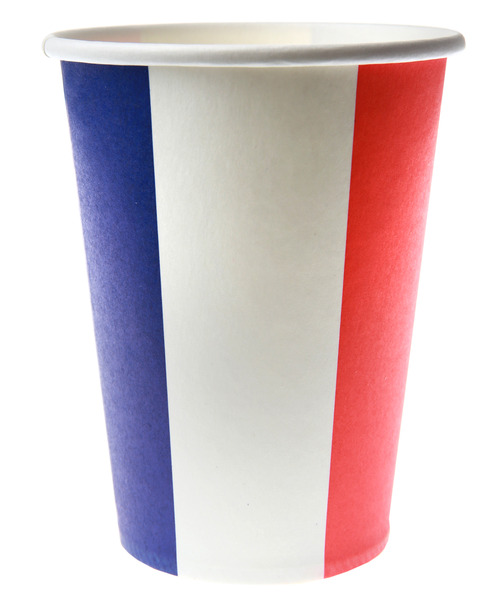 Party Becher Frankreich Vive la France