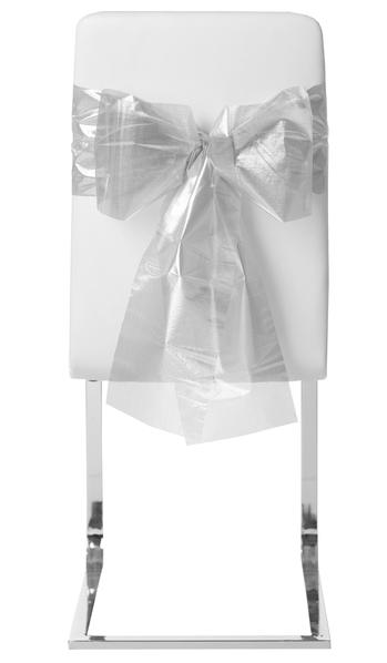 Stuhl Schleife (automatisch) silber