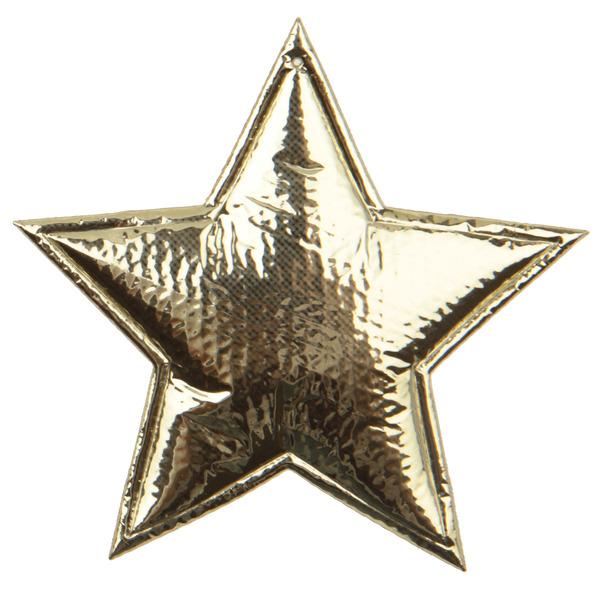 6 Sterne gold 6,5 x 5,5 cm weich