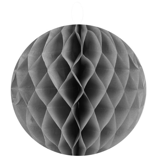 2 Wabenbälle Grau 20 cm