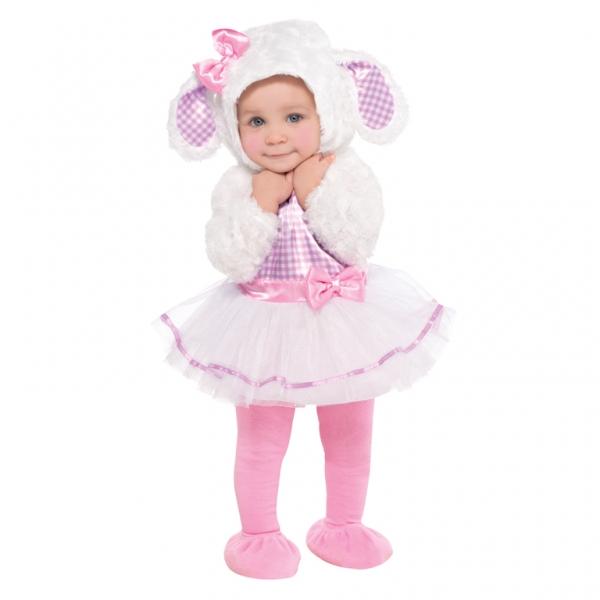 Baby / Kinder Kostüm Lämmchen Gr.: 74 6 - 12 Monate