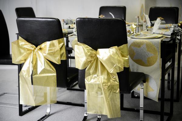 Stuhl Schleife (automatisch) gold