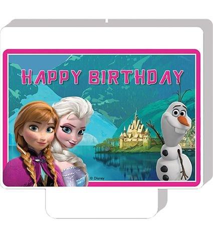 Disney Frozen Die Eiskönigin Alpenland Geburtstagskerze