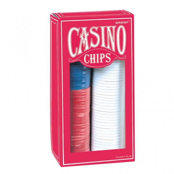 Black Jack Chips Casino 100 Stück