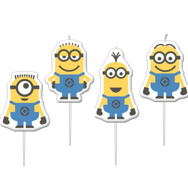 Mini Figurenkerzen Me Minions