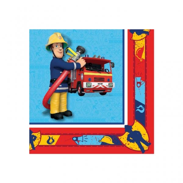 Feuerwehrmann Sam Party Servietten