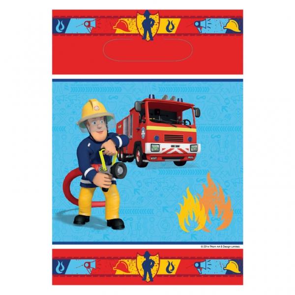 Feuerwehrmann Party Tüten