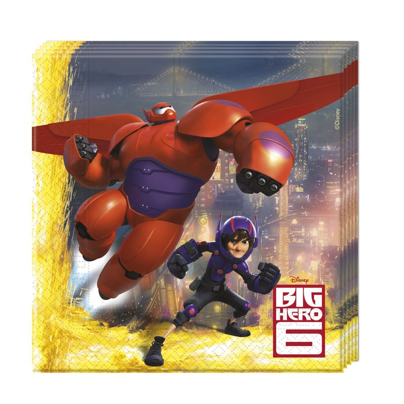 Big Hero 6 BAYMAX Party Servietten