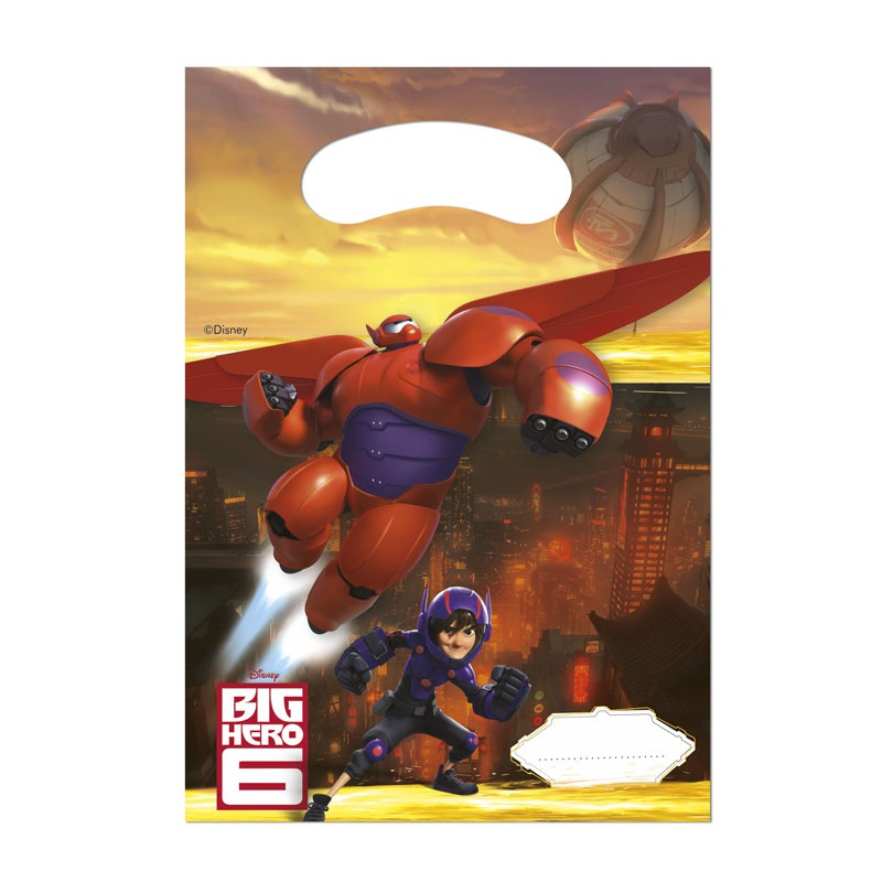 Big Hero 6 BAYMAX Party Tüten