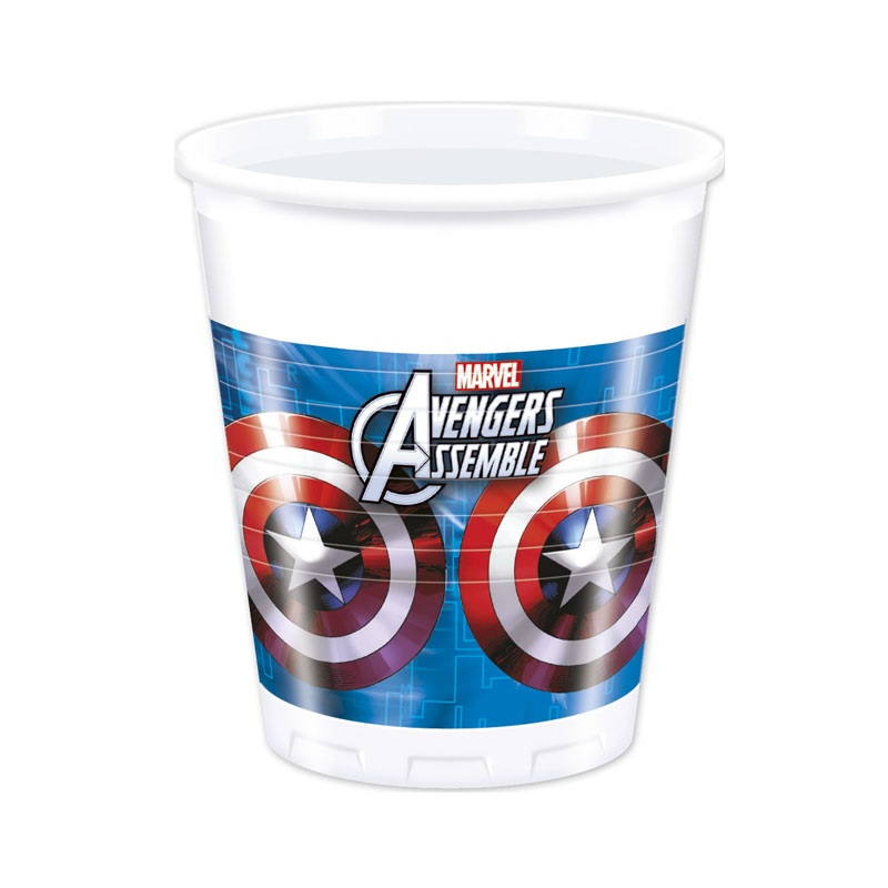 Marvel Avengers Assemble Party Becher