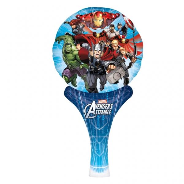 Marvel Avengers Assemble Luftballlon Keule mit allen Superhelden