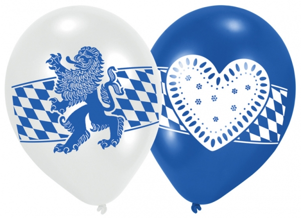 Bayern Luftballons 6 Stück von Amscan