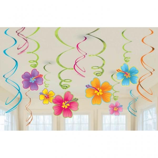Hawaii HAWAII Hawaii Sommer Blumen Swirl