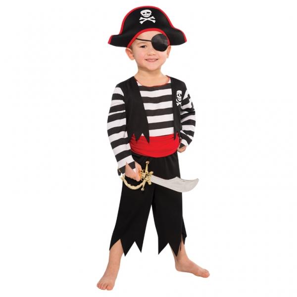 """Jungen Kostüm """"Der schreckliche Pirat"""" Gr.: 104 / 3 - 4 Jahre"""