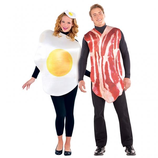 """Paar Kostüm """"Spiegelei und Speck"""""""