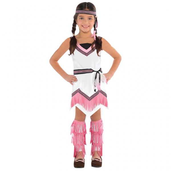 """Mädchen Kostüm Die Indianerin """"American Spirit"""" Gr.: 134 / 8 - 10 Jahre"""
