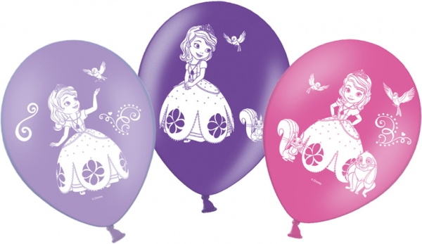 Sofia the First Party Luftballons Disney