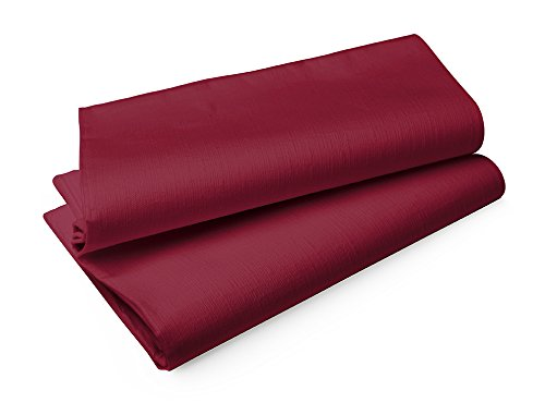 Duni Tischtuch Evolin  1,27 x 1,27 m bordeaux
